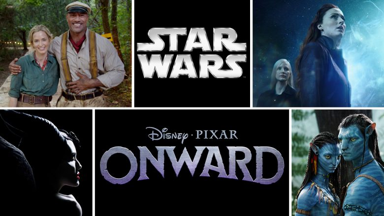The Walt Disney Company Announces Disney and Fox Film Release Schedule Through 2027